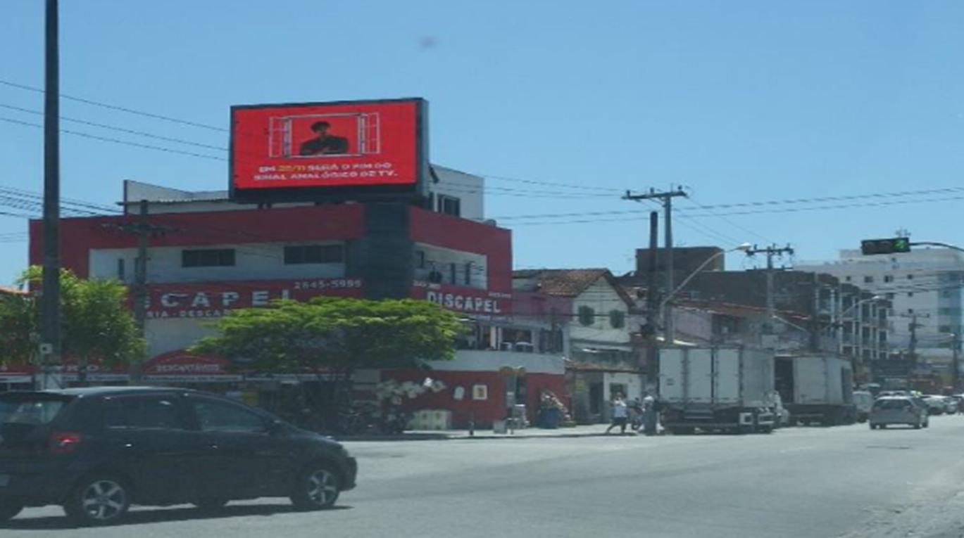 PAINEL DE LED RIO E REGIÕES