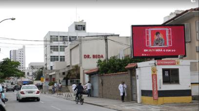 PAINEL DE LED CAMPOS DOS GOYTACAZES MÍDIA URBANA