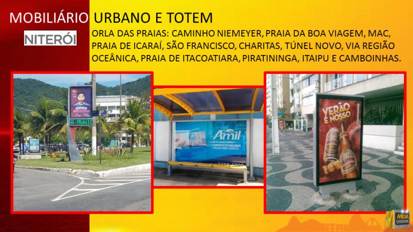 Mobiliário Urbano Niterói