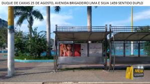 Abrigo de ônibus Duque de Caxias