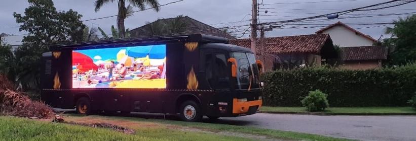 Ônibus Led