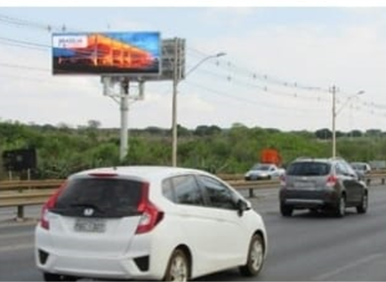 Painel Digital Led sentido Aeroporto Brasília